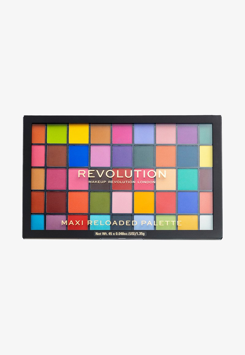 Make up Revolution - MAXI RELOADED EYESHADOW PALETTE - Øjenskyggepalette - monster mattes