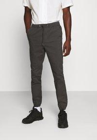 Jack & Jones - JJIVEGA JJJOGGER - Trousers - dark grey - 0