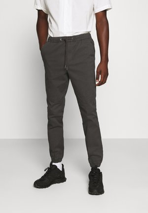 JJIVEGA JJJOGGER - Trousers - dark grey