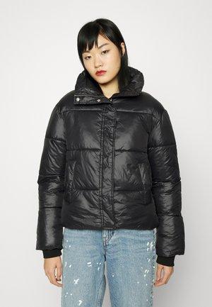 PUFF IT UP JACKET - Winter jacket - black shiny