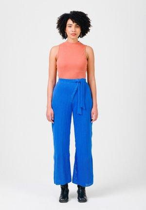 Trousers - cobalt blue