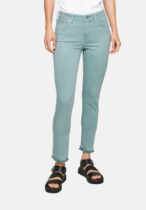 Slim fit jeans - sage green