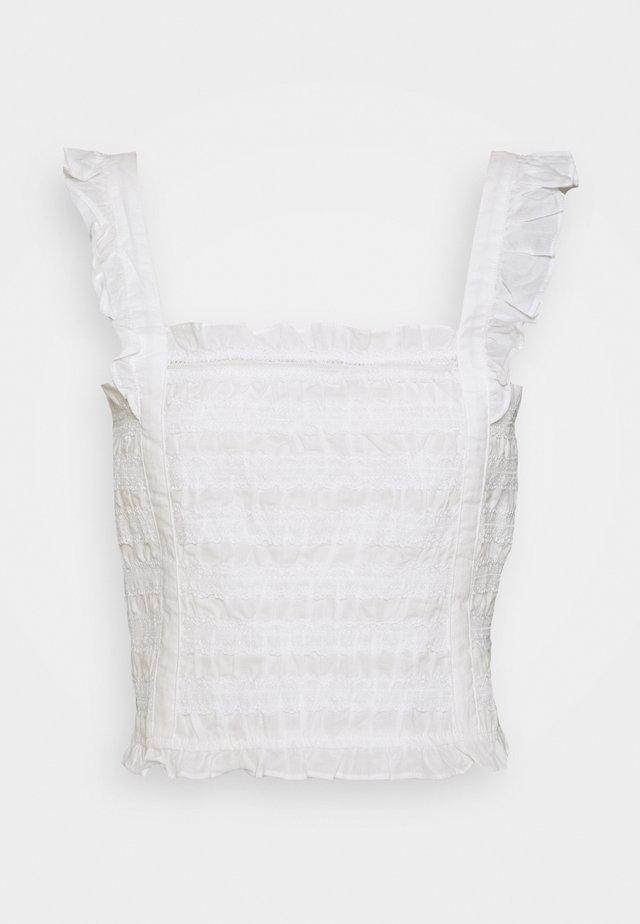 CRUNCHIE - Bluser - white