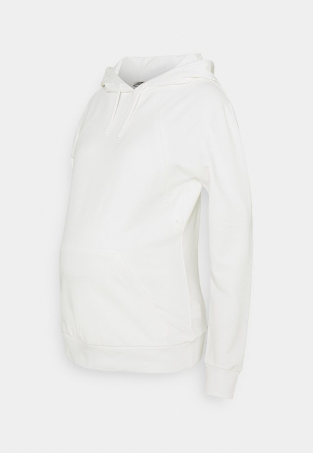 HOODY NURSING - Mikina - off white