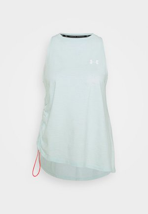 CHARGED TANK - T-shirt de sport - seaglass blue