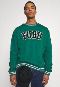 FUBU - COLLEGE - Sweater - green - 4