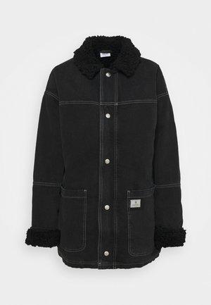DYLAN DONKEY JACKET - Denim jacket - black