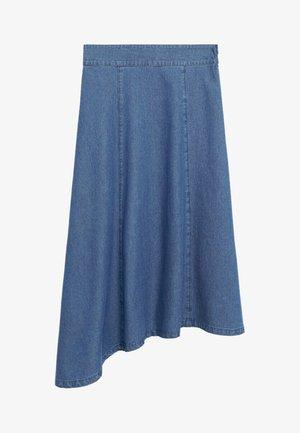 GAIA-H - A-linjainen hame - medium blue