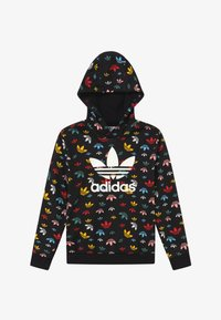 adidas Originals - HOODIE - Jersey con capucha - black/multicolor/white - 2