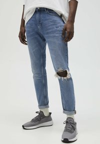 PULL&BEAR - Jeans slim fit - stone blue denim - 0