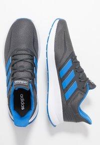adidas Performance - RUNFALCON - Zapatillas de running neutras - grey six/true blue - 1