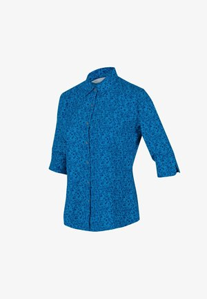 NIMIS III  - Button-down blouse - bluastflorbl