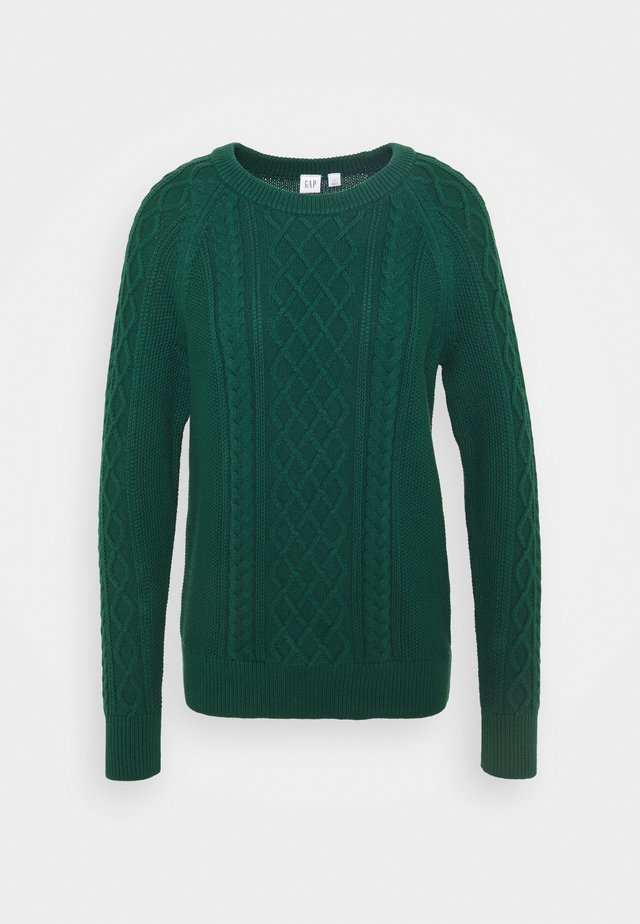 CABLE CREW - Jumper - pine green