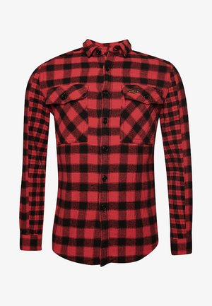 Shirt - red check