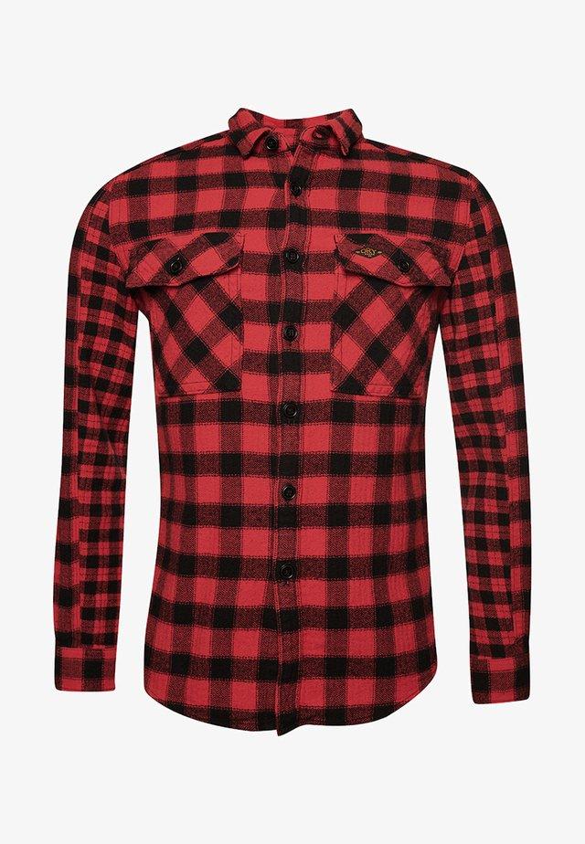 Koszula - red check