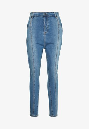 PLEATED  - Jeans Skinny Fit - blue