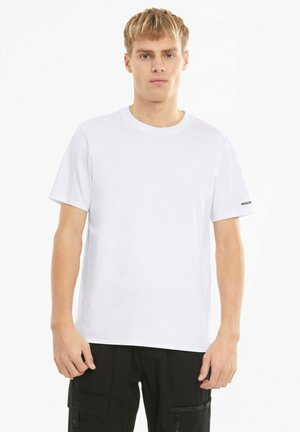 PORSCHE DESIGN - Basic T-shirt - puma white