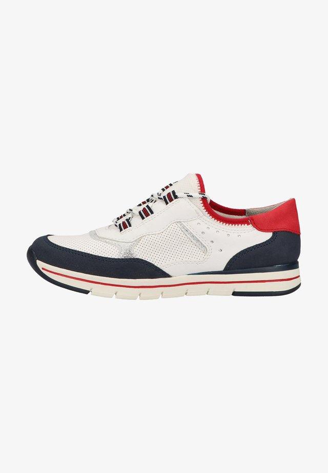 Sneakersy niskie - weiss / kombiniert