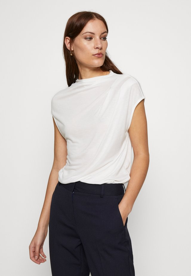 POPEEY - T-shirt basic - ivory