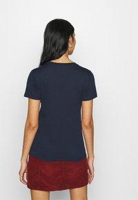 Hollister Co. - Print T-shirt - navy - 2
