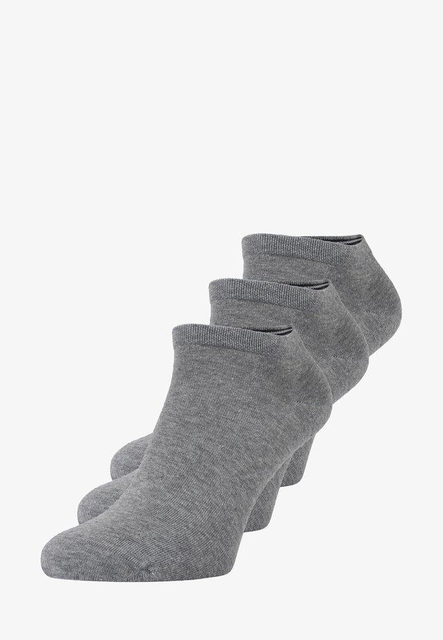 LARSEN SNEAKER 3 PACK - Sportovní ponožky - grau