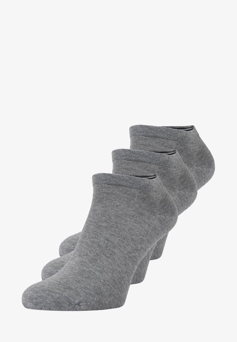 Marc O'Polo - LARSEN SNEAKER 3 PACK - Sportovní ponožky - grau