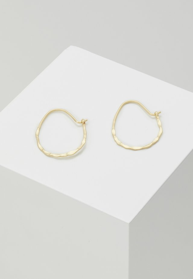 EARRINGS OLENA - Oorbellen - gold-coloured