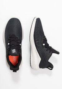 adidas Performance - ALPHABOUNCE 3 - Neutral running shoes - core black/silver metallic - 1