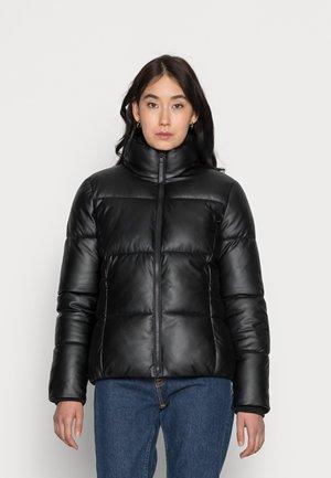PUFFER - Winter jacket - deep black