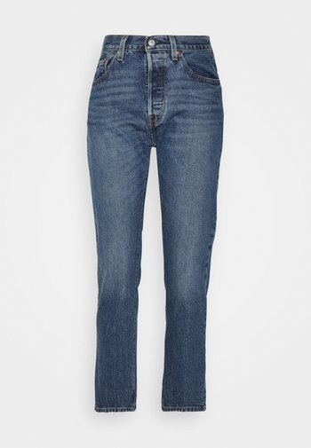 501® CROP - Straight leg jeans - square one
