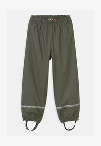 LEGO Wear - POWAI UNISEX - Pantalones impermeables - dark green - 0