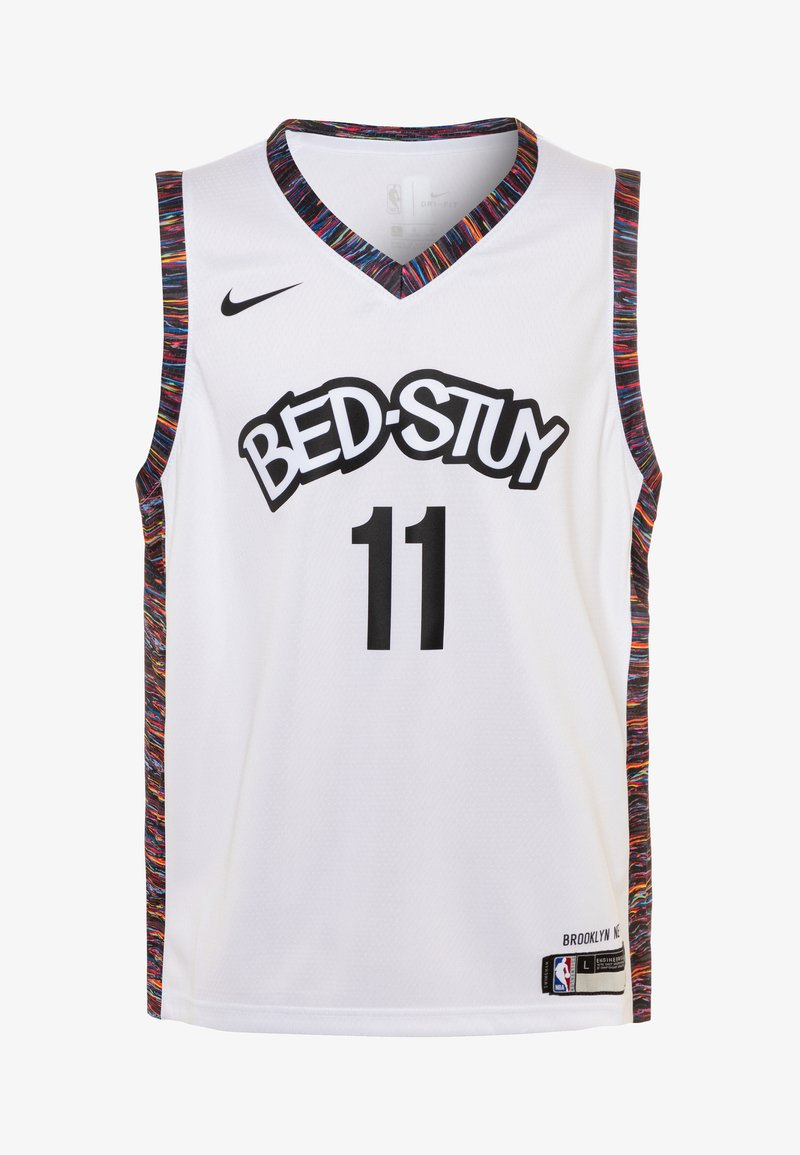Nike Performance - NBA KYRIE IRVING BROOKLYN NETS CITY EDITION - Sports shirt - white