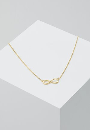 INFINITY - Necklace - pale gold-coloured