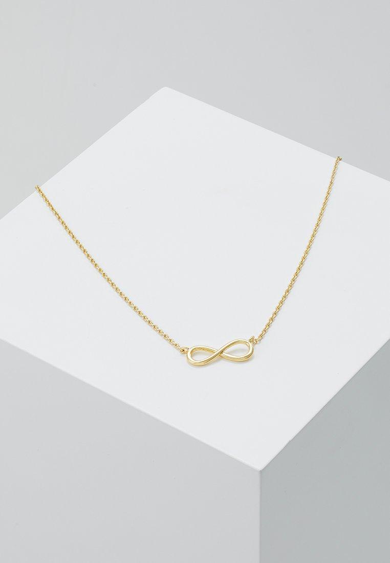 Orelia - INFINITY - Naszyjnik - pale gold-coloured