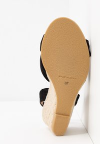 Office Wide Fit - MILLS - Espadrilles - black - 6