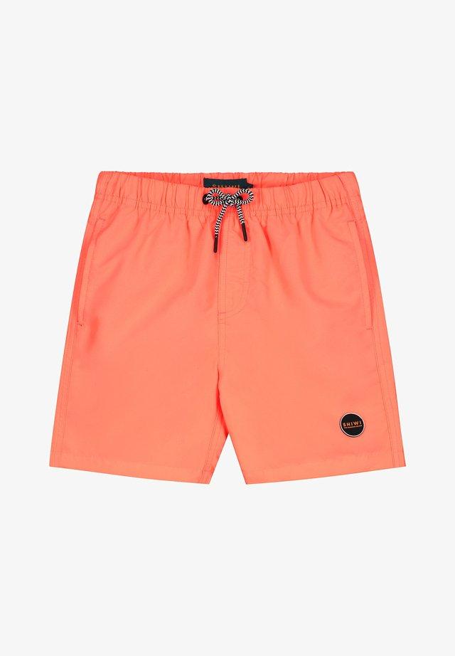 Zwemshorts - neon orange