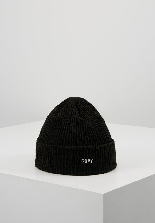 HANGMAN BEANIE - Bonnet - black