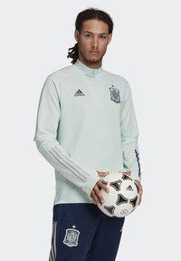 adidas Performance - SPAIN FEF TRAINING SHIRT - National team wear - dash green - 3