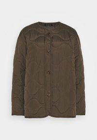 ALLEY - Light jacket - choc