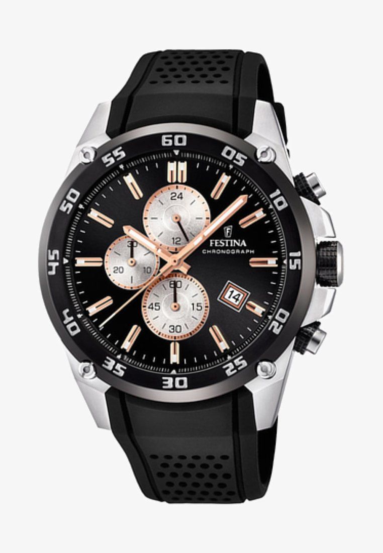 Festina - Chronograph watch - black