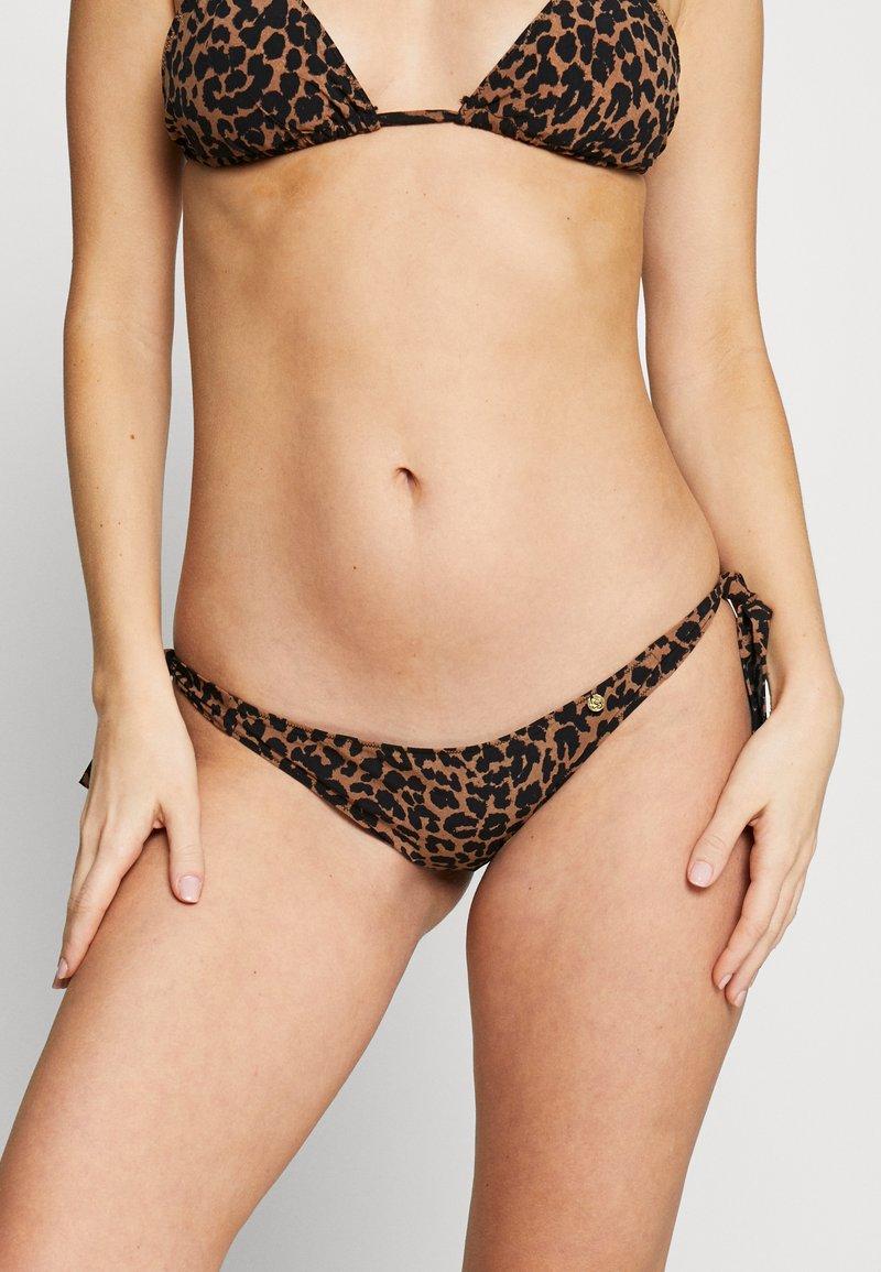 LOVE Stories - ZOEY - Bikini bottoms - brown/black