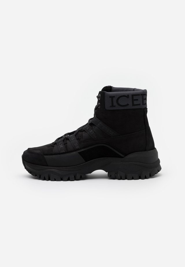 PRIMA - High-top trainers - black
