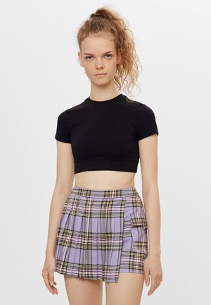 Wrap skirt - mauve