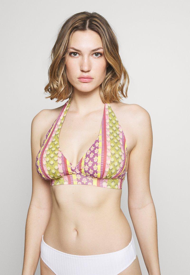 Women Secret - TRIANGULAR HALTER - Bikinitop - beige