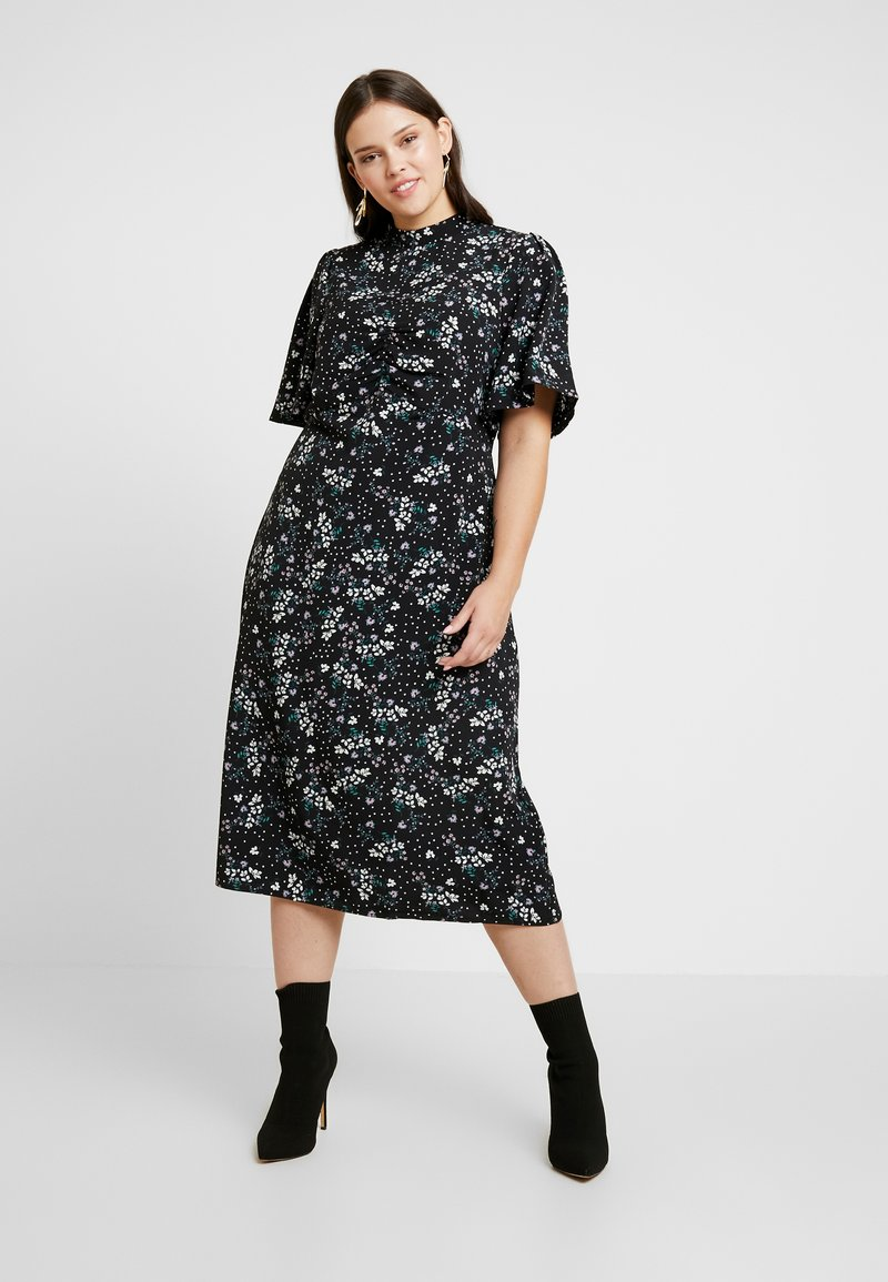 Fashion Union Plus - SIENNA STAR FLORAL - Day dress - multi