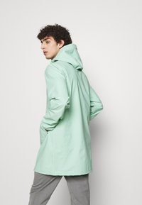 Stutterheim - STOCKHOLM - Waterproof jacket - green mint - 2
