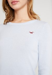 Hollister Co. - ICON CREW - Jumper - light blue - 5