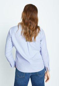 Violeta by Mango - OXFORD7 - Button-down blouse - himmelblau - 2