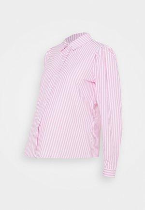 PCMCANDY SHIRT - Skjorte - bright white/bridal rose