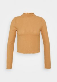Trendyol - Camiseta de manga larga - camel - 0